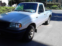 2002 Mazda B-Series Pickups grey Pickup Truck 5 speed