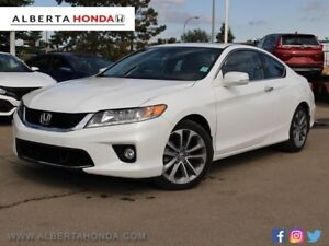 2015 Honda Accord Coupe EX-L * LEATHER INTERIOR, LOW KM'S, WARRA