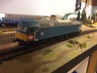HELJAN CLASS 47 854 'RAIL EXPRESS' LTD EDITION - MINT CONDITION -SUIT BACHMANN HORNBY LIMA