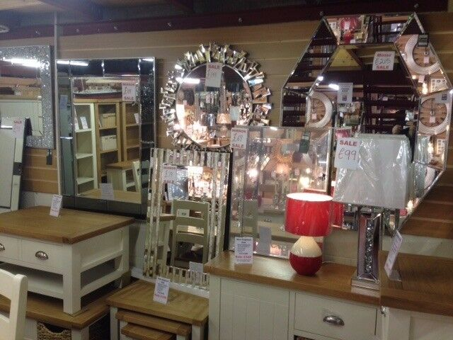 New mirrors in many shapes square, round, oval, rectangular and tall & thin from £5-£499