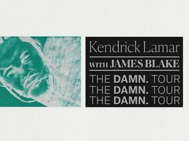 Kendrick Lamar Tickets 2x - The DAMN Tour with James Blake 12/02/2018