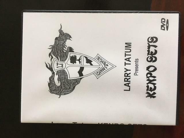 Larry Tatum The Kenpo Sets Ed Parker DVD Kenpo Karate Striking blocking finger