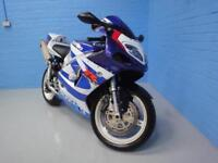 2001 SUZUKI GSX R GSXR 750 PREVIOUSLY OWNED FOR 16 Years Only 15,000 Miles