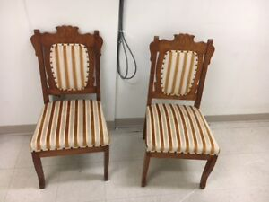 Free Upholstered Dining Chairs