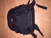 Sturdy black laptop backpack / bag (Targus)