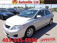 2009 Toyota Corolla CE LOW LOW 21000KM $ 11988 EVERYONE APPROVED