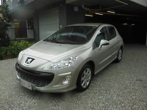 2009 Peugeot 308 T7 XSE Turbo Gold 5 Speed Manual Hatchback