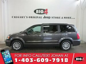 2016 Chrysler Town & Country Touring-L, leather DVD, sunroof