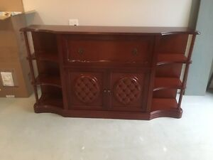 Beautiful Solid Mahogany Buffet