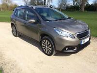 2014 Peugeot 2008 Crossover 1.6e-HDi ( s/s ) EGC Active Automatic ONLY 16000 MLS
