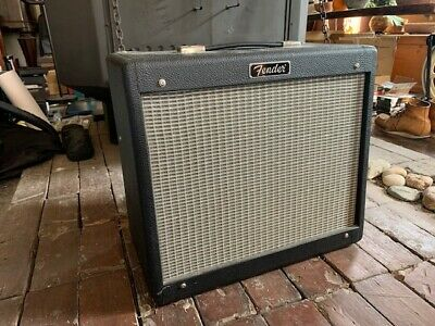 Fender Blues Junior with Bill M Mods + Celestion Green Back Speaker