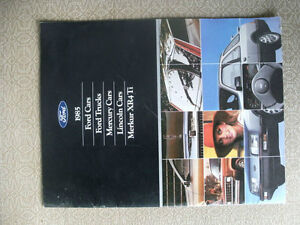 FORD 1985 Brochure-$5 to a good home London Ontario image 2