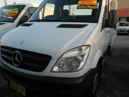 2008 Mercedes-Benz Sprinter 315 CDI WMB 5 Speed Manual Cab Chassis Clyde Parramatta Area Preview