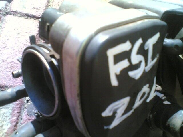 golf5 20L fsi none turbo throttle body