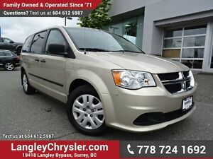 2013 Dodge Grand Caravan SE/SXT ACCIDENT FREE w/ POWER WINDOW...