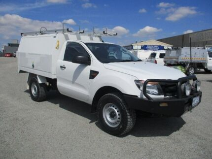 2012 Ford Ranger White Sports Automatic Cab Chassis