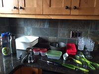 Various Kitchen Items with Various Pricing
