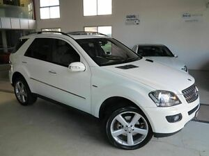 2008 Mercedes-Benz ML320 CDI W164 MY08 Edition 10 White 7 Speed Sports Automatic Wagon Albion Brisbane North East Preview