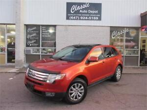 2007 FORD EDGE SEL **LEATHER**PANORAMIC ROOF**NAVIGATION**