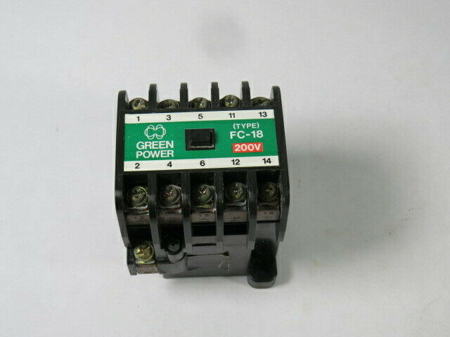 Matsushita BMF6-18-3-2 Magnetic Contactor Type FC-18 200/220V 50/60Hz  USED