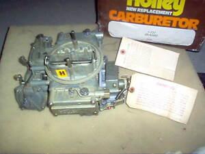 Vintage Holley 4BBL Carburetor