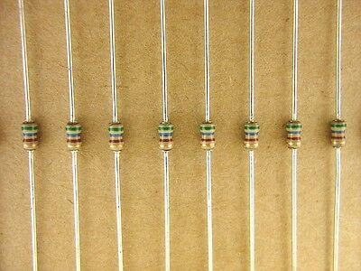 100pack 560 Ohm 5 18 Watt Tiny Carbon Resistors Leds Audio