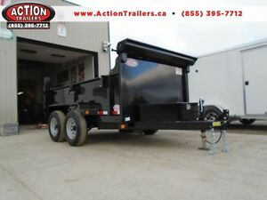 10' DUMP, 5 TON - DUAL CYLINDER, BUILT TO LAST! IN STOCK SPECIAL
