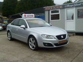 2009 SEAT EXEO SE LUX TDI FULL LEATHER ##TRADE SALE PRICES##