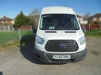 Ford Transit 350 L3 H3 VAN 125PS EURO 5 DIESEL MANUAL WHITE (2016)