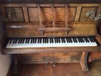 Upright Piano Free for Collection - in working order