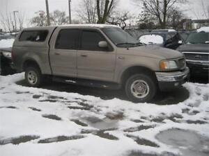 2002 Ford F-150 Lariat NICE RUNNER AS-IS DEAL 4X4 LEATHER