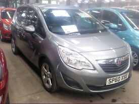 Vauxhall MERIVA EXCLUSIV TURBO 118 2010 ** Finance Available even for bad credit **