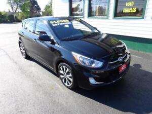 2017 Hyundai Accent SE HB for only $129 bi-weekly all in!