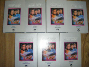 26 Star Trek VHS Series Set for sale in Truro..