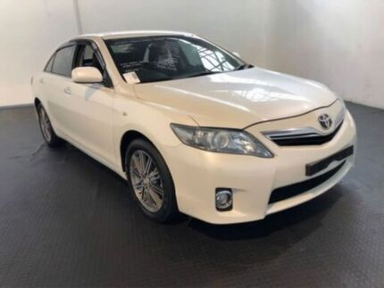2011 Toyota Camry AHV40R Hybrid Crystal Pearl Continuous Variable Sedan Clemton Park Canterbury Area Preview