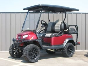 2019 Club Car Onward Golf Car (Gas EFI) Lifted 4-Pass