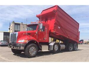 2015 PETERBILT 382 DOMPEUR À VENDRE / DUMP TRUCK FOR SALE