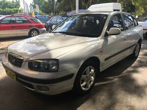 2002 Hyundai Elantra XD GLS White 4 Speed Automatic Hatchback West Ryde Ryde Area Preview