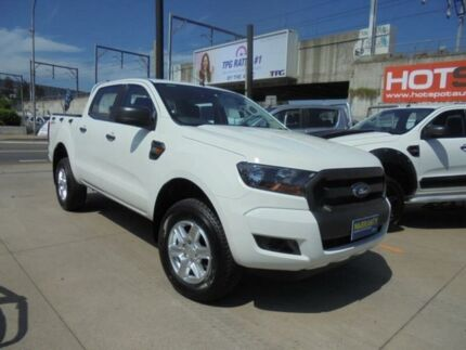 2015 Ford Ranger PX MkII XL Hi-Rider White Sports Automatic Utility Granville Parramatta Area Preview