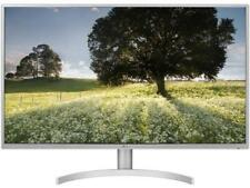 "LG 32QK500-W 31.5"" IPS QHD (2560x1440) Widescreen Monitor FreeSync 75Hz VESA 2xH"