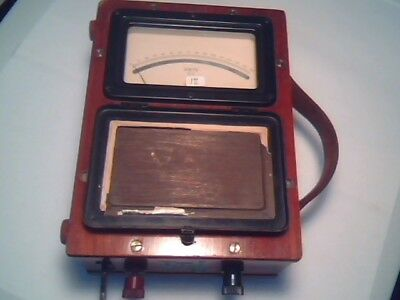1930s Megger Voltmeter Dc 150v Evershed Vignoles Vintage Test Equipment
