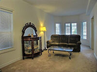 Beautiful Large Slate Coffee Table with Wrought Iron Legs