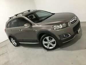 2013 Holden Captiva CG MY14 7 AWD LTZ Gold 6 Speed Sports Automatic Wagon Mile End South West Torrens Area Preview