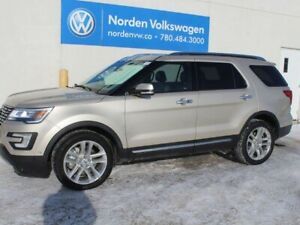 2017 Ford Explorer LIMITED 4WD - LEATHER / HEATED SEATS / NAVI