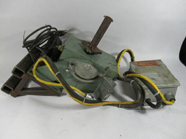 Atlas Welding Accessories Model 200 Positioner 0-9RPM 110VAC USED