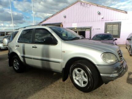 2001 Mercedes-Benz ML W163 320 (4x4) Silver 5 Speed Auto Tipshift Wagon North St Marys Penrith Area Preview