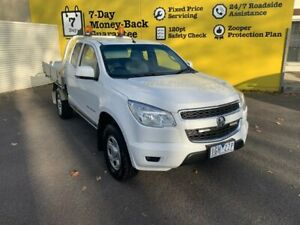 2015 Holden Colorado RG MY16 LS Space Cab White 6 Speed Manual Cab Chassis Invermay Launceston Area Preview