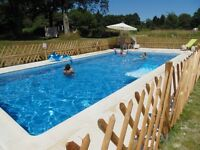 3 Luxury Cottages/Gites France Peak Weeks available August 2016 !