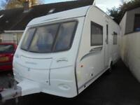 2011 Coachman Pastiche 560-4 4 Berth Caravan For Sale. End Washroom.Fixed Bed
