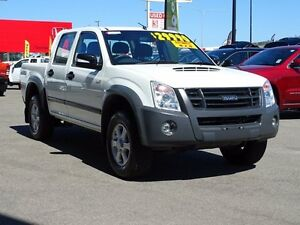 2012 Isuzu D-MAX MY11 LS-M White 4 Speed Automatic Utility Garbutt Townsville City Preview